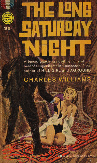 Charles Williams - The Long Saturday Night (Gold Medal edition)