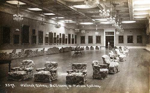 Abbey National Bank >> ipernity: Welbeck Abbey, Nottinghamshire - Underground Ballroom, c1910 - by A Buildings Fan
