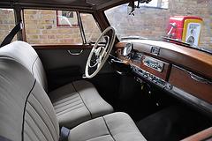 Holiday 2009 – Interior of a Mercedes-Benz 300 'Adenauer'
