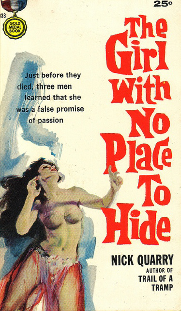 Nick Quarry - The Girl With No Place to Hide