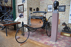 Holiday 2009 – 1885 Benz Patent-Motorwagen nr. 1, the first automobile