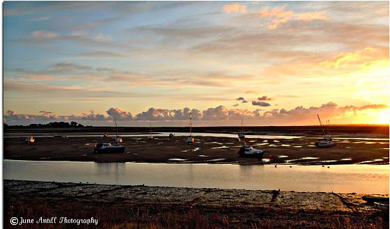 Sunrise at Wells