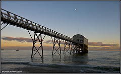 Selsey Lifeboat Station at Dusk