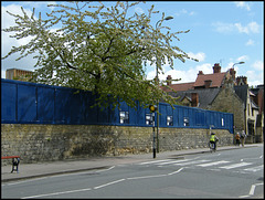 historic wall to be demolished