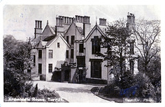 Ardmiddle House, Turriff, Aberdeenshire (Demolished) - Entrance Facade