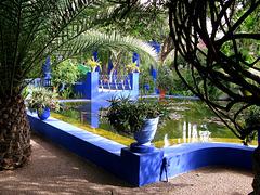 jardin de Majorelle  (Marrakech)