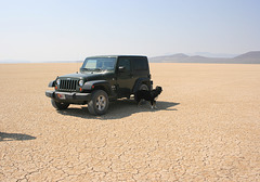 Jack, the Jeep, and the Alvord Desert