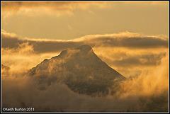 Memories of Scotland - Jan 2010: Mountain in the mists.