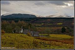 Memories of Scotland - Jan 2010: Distant snowy peaks.