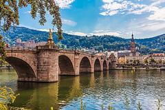 Heidelberg, Alte Brücke (165°)