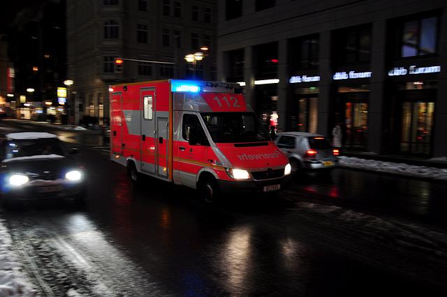 Berlin – Fire Service in the Friedrichstraße