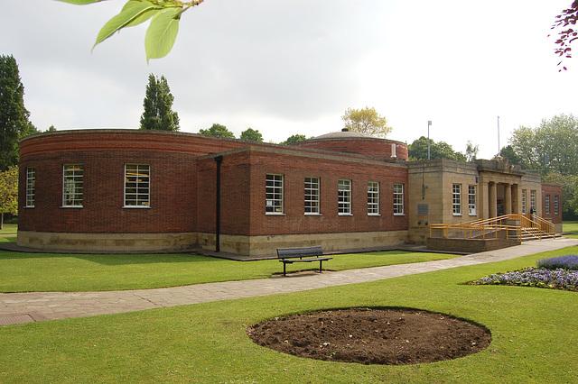 Library, Worksop, Nottinghamshire