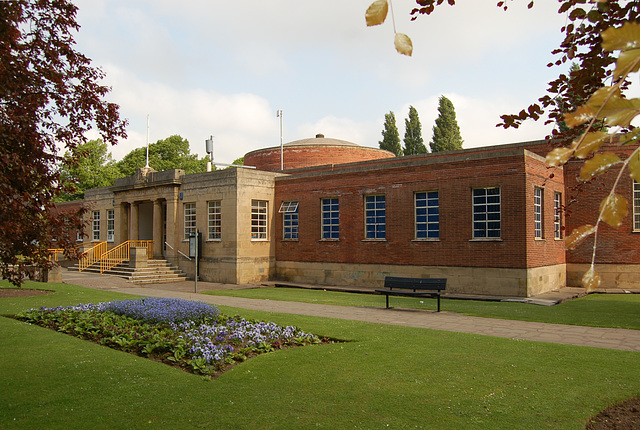 Library, Worksop, Nottinghamshire