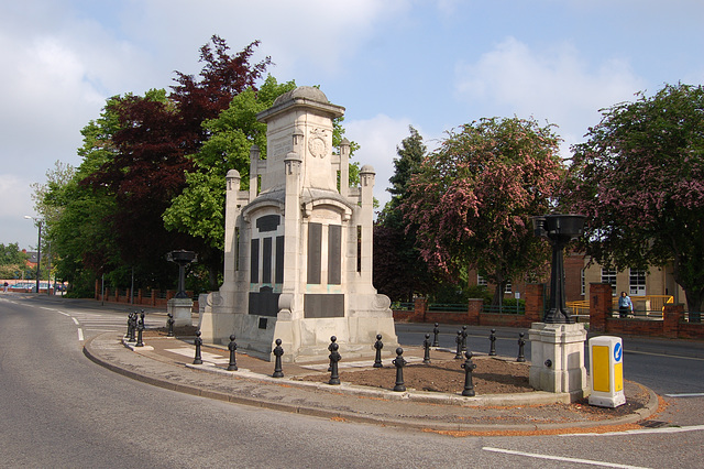 War Memorial, Worksop, Nottinghamshire