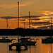 Sunset at Langstone Harbour
