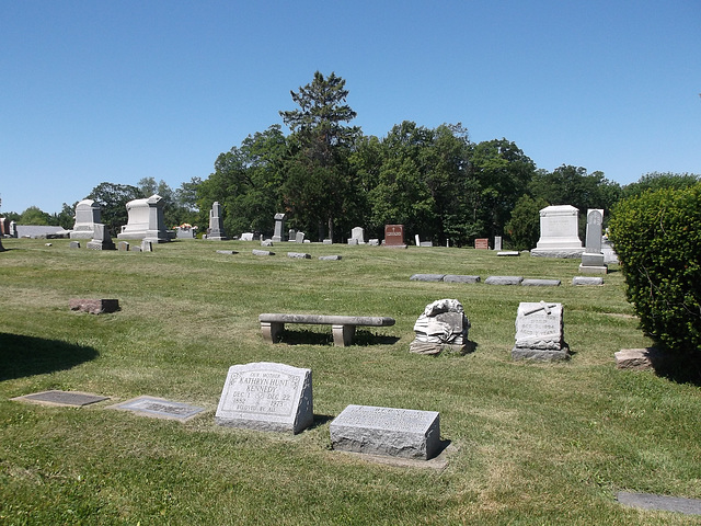 Calvary Cemetery.