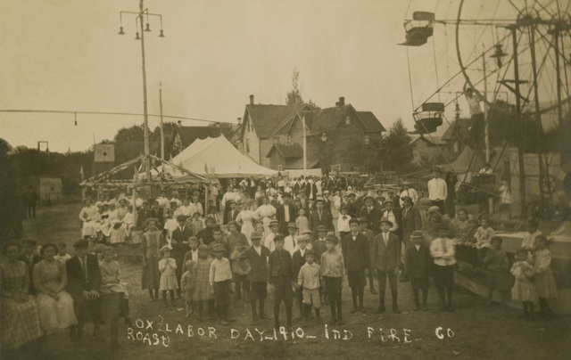 Ox Roast, Independent Fire Company, Labor Day, 1910