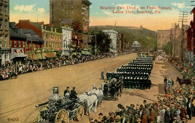 Reading Fire Department, Labor Day Parade, Reading, Pennsylvania
