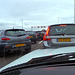 Open day A4 aquaduct – busy parking lot