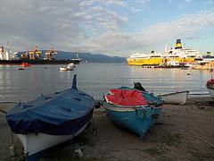 Tramonto sul porto di Vado Ligure