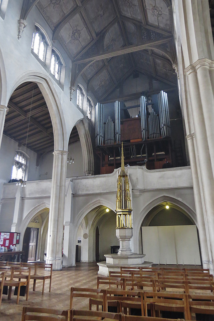 st cyprian's church, glentworth st., london