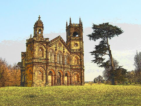 Gothic Temple at Stowe