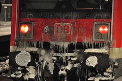 Frosty train