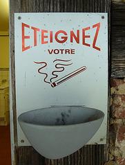France 2012 – Eteignez votre cigarettes