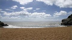 Il y avait le sable....