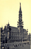 Old postcards of Brussels – City Hall
