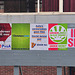 Voting posters for the municipal elections