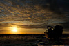 Sunrise over Dungeness