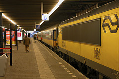 Engine 1834 waiting at The Hague Central Station