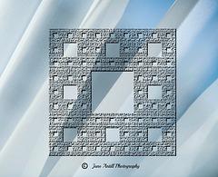 A fractal doily