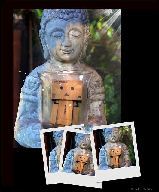 buddha carries me