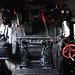 Technik Museum Speyer – Controls of steam loc 50 685