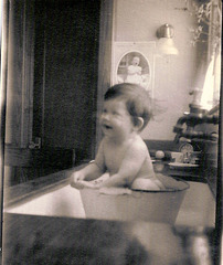 Nancy Haskins, One Year Old