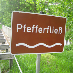 Pfefferfließ bei Stangenhagen