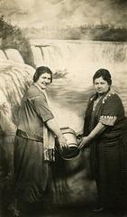 Holding a Bucket Under Niagara Falls