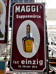 Technik Museum Speyer – Maggi advertisement