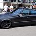 Matte black Mercedes-Benz E-class