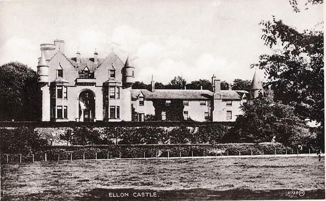 Ellon Castle, Aberdeenshire (mostly demolished rest a ruin)