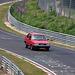 1986 Volvo 340 DL racing on the Nürburgring