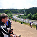 Watching the cars on the Nürburgring