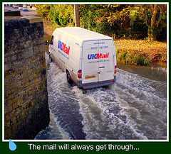 The mail will always get through !!