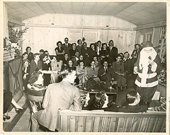 1940s Christmas party
