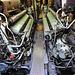 Technik Museum Speyer – Two Maybach-Mercedes-Benz diesel engines in U9