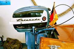 Technik Museum Speyer – Evinrude outboard motor