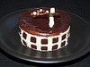 Chocolate Checker Mousse Cake