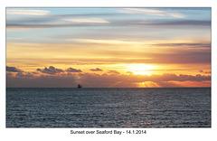 Seaford Bay sunset  - 14.1.2014